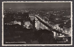78290/ GRAZ Bei Nacht Vom Schlossberg - Graz