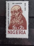 NIGERIA Y&T N°  ** - Dr HANSEN DECOUVERTE DU BACILLE CONTRE LA LEPRE - Nigeria (1961-...)