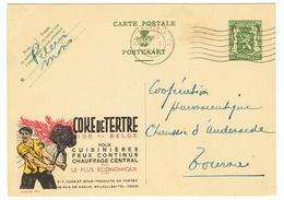 PUBLIBEL 979  - COKE DE TERTRE  - (128) - Enteros Postales