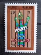 POLYNESIE 1972 Y&T N° 92 ** - LUTTE CONTRE L'ALCOOLISME - Frans-Polynesië