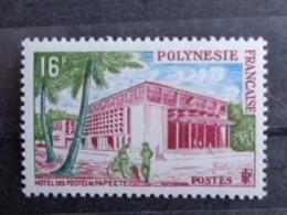 POLYNESIE 1960 Y&T N° 14 **- HOTEL DES POSTES DE PAPEETE - French Polynesia