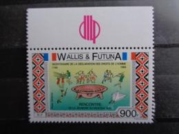 WALLIS & FUTUNA 1989 P.A. Y&T N° 166 ** - BICENTENAIRE DE LA DECLARATION DES DROITS DE L'HOMME & DU CITOYEN - Wallis-Et-Futuna