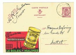 PUBLIBEL 428  - LE SOLEIL - (133) - Enteros Postales
