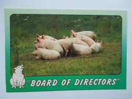 NEW YORK Scenic Prints : BOARD OF DIRECTORS - Cochons