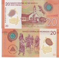 Nicaragua - 20 Cordobas 2015 ( 2014 ) UNC Ukr-OP - Nicaragua