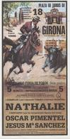 Girona, Gérone, Corrida, Plaza De Toros, Affiche, Poster,,nathalie,Pimentel, Sanchez, 1996 - Affiches
