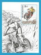 Belgien 2000  Mi.Nr.  Block 72 , Motorradsport - Postfrisch / MNH / (**) - Ungebraucht