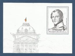 Belgien 2000  Mi.Nr.  Block 71 , König Leopold I - Postfrisch / MNH / (**) - Ungebraucht