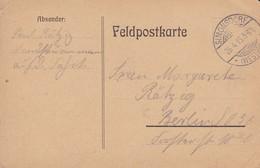 Feldpostkarte - Simonsdorf Nach Berlin -  1915 (37387) - Allemagne