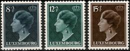 1949 Série GD Charlotte 3 Timbres Neuf Sans Charnière Michel 439-441  (2scans) - Luxembourg