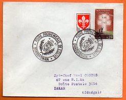DRAGUIGNAN FOIRE PROVENCALEDE L'OLIVE 1960  Lettre Entière N° OO 289 - Poststempel (Briefe)