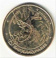 Fautée. Monnaie De Paris 77.Disneyland 20 Type 1 Goofy Indiana Jones 2010 Neuve - Monnaie De Paris