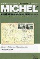Briefmarken MICHEL Rundschau 4/2018-plus Neu 6€ New Stamps World Catalogue/magacine Of Germany ISBN 978-3-95402-600 - Philatélie Et Histoire Postale