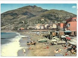 Liguria Levanto Spiaggia Viaggiata 1962 - Italia