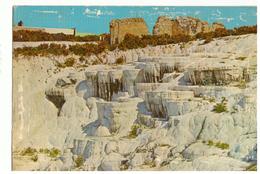 Postcard. Turkey. Pamukkale. 1973. Stamps. To Morocco. Very Average Condition - Turkey