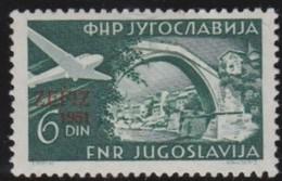 Yuguslavia   .    Yvert  .   Airmail   41     .     *    .     Ungebraucht Mit Falz  .   /   .   Mint-hinged - Airmail