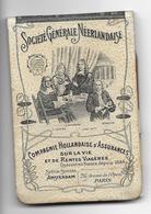 Petit CALENDRIER MEMENTO De 1903 Avec Petit Crayon De La Société Générale Néerlandaise.. Complet..3 Scans - Calendriers