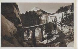 AK 0067  Mariazellerbahn Mit Dem Ötscher - Verlag Kuss-Radinger Um 1928 - Mariazell