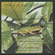 Seychellen 2003 Frösche Baumfrosch Block 44 Postfrisch (C27354) - Seychellen (1976-...)