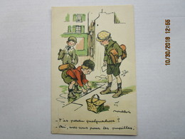 CPA Illustrateur Fr. Poulbot - T'as Perdu Quelquechose ? Oui Mes Sous Pour Les Pupilles De La Nation - H. Chachoin Paris - Poulbot, F.