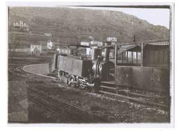 06-76 La TURBIE Train à Crémaillère Photo - La Turbie