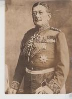 Fotografia Originale Militari Uniformi Generale Von Der Goltz Governatore Tedesco Nel Belgio   F/p - Guerre, Militaire