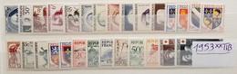 Année Complète 1953 Neuf ** TTB à 13,5% De La Cote. - France