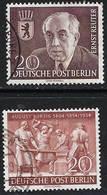 BERLIN 1954 Rueter 20pf /Borsig 20pf Used - [5] Berlin