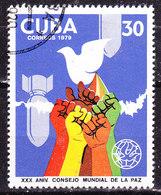 -Cuba -1979 Pace-Usato - Cuba