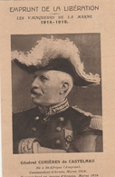 Général CURIERES De CASTELNAU - Emprunt De La Libération - Guerre 14-18 - Personaggi