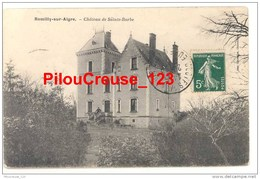 """28 Eure Et Loir - ROMILLY SUR AIGRE- """"Château De Sainte Barbe"""" - France"""
