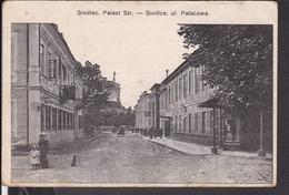 Siedlec , Siedlce Palaststr. Feldpost 1915 - Pologne