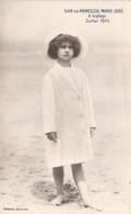 FAMILLES ROYALES ( BELGIQUE ) S.A.R. La Princesse MARIE JOSE ( Reine D'ITALIE ) Adolescente à La Plage En 1914 - CPA - - Familles Royales