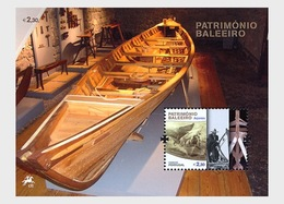 Portugal 2011 - Whaling Heritage - AZORES MS 2 - Miniature Sheet Mnh - Theatre