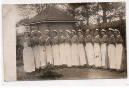 CARTOLINA FOTOGRAFICA-GRUPPO SUORE CROCE ROSSA-1915 - Croce Rossa
