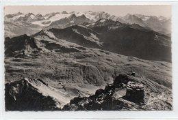FRONTIERE FRANCO-ITALIENNE-LE COL DU PETIT ST.BERNARD-SAVOIE-1950-REAL PHOTO-VIAGGIATA - Dogana