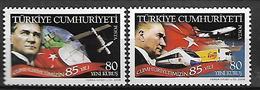 TURKEY 2008 Sc#3143-44 85th Anniv Of Turkish Republic, Complete Set MNH LUX - 1921-... Republic