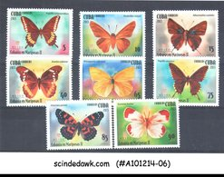 CUBA - 2015 BUTTERFLIES / BUTTERFLY - 8V - MINT NH - Insects