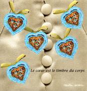 France.bloc No 33 De 2001.saint Valentin.coeur De Christian Lacroix.n**. - Ongebruikt