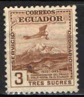 ECUADOR - 1948 - 25th Anniversary (in 1945) Of The First Postal Flight In Ecuador - USATO - Ecuador