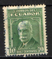 ECUADOR - 1942 - ALFREDO BAQUERIZO MORENO - USATO - Ecuador