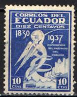 ECUADOR - 1938 - Golden Gate International Exposition - USATO - Ecuador