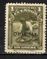 ECUADOR - 1937 - RICERCATORE D'ORO - USATO - Ecuador