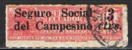ECUADOR - 1936 - SEGURO SOCIAL DEL CAMPESINO - USATO - Ecuador