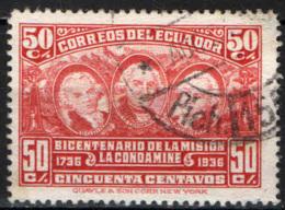 ECUADOR - 1936 - Bicentenary Of Geodesical Mission To Quito - USATO - Ecuador