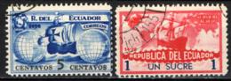 ECUADOR - 1935 - CRISTOFORO COLOMBO - USATI - Ecuador