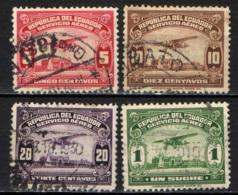 ECUADOR - 1929 - AEREOPLANO SUL FIUME GUAYAS - USATI - Ecuador