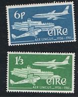 """26. Juni 1961 """" Aer Lingus """"  Michel 148 - 149 Postfrisch Xx - Unused Stamps"""