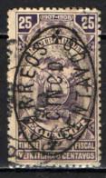 ECUADOR - 1910 - STEMMA CON SOVRASTAMPA - OVERPRINTED-  USATO - Ecuador