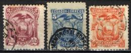ECUADOR - 1881 - STEMMA -  USATI - Ecuador
